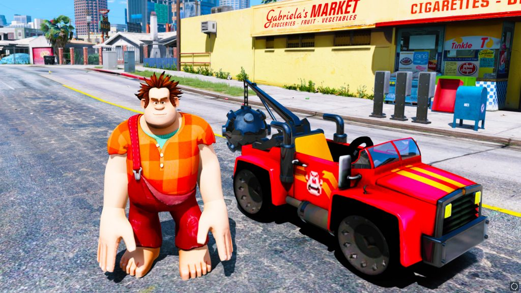 gta-5-mod-wreck-it-ralph-car-included