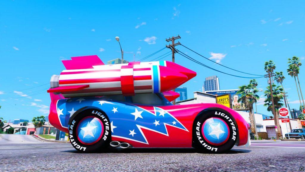 gta-5-mod-disney-cars-rocket-lightning-mcqueen