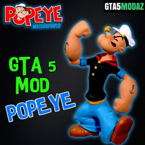 GTA 5 Mod Popeye