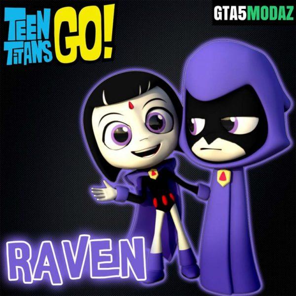 gta-5-mod-raven-teens-titan-go