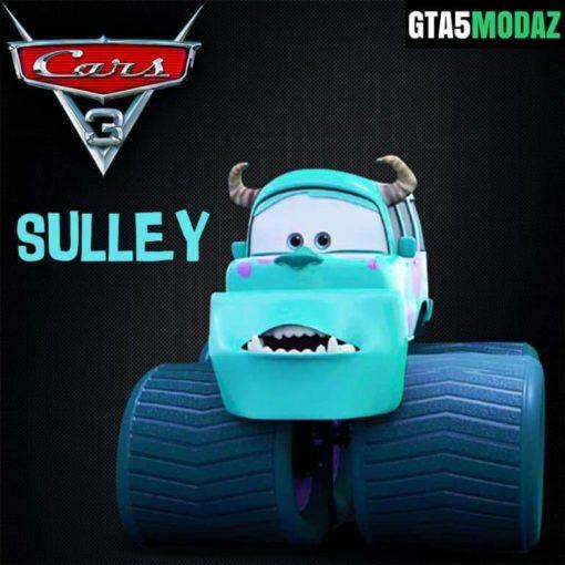 GTA 5 Mod Disney Cars Sulley