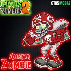 GTA 5 Mod All Star Zombie Plants vs Zombies