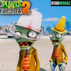 GTA 5 Mod Browncoat Zombie Plants vs Zombies