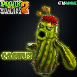 GTA 5 Mod Cactus Plants Zombies