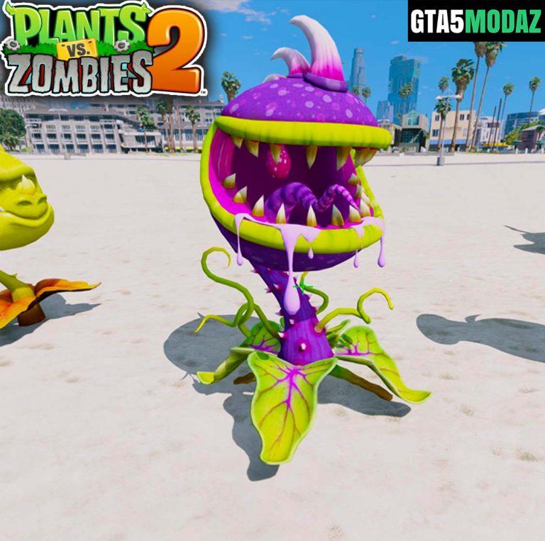 gta-5-mod-chomper-plants-zombies
