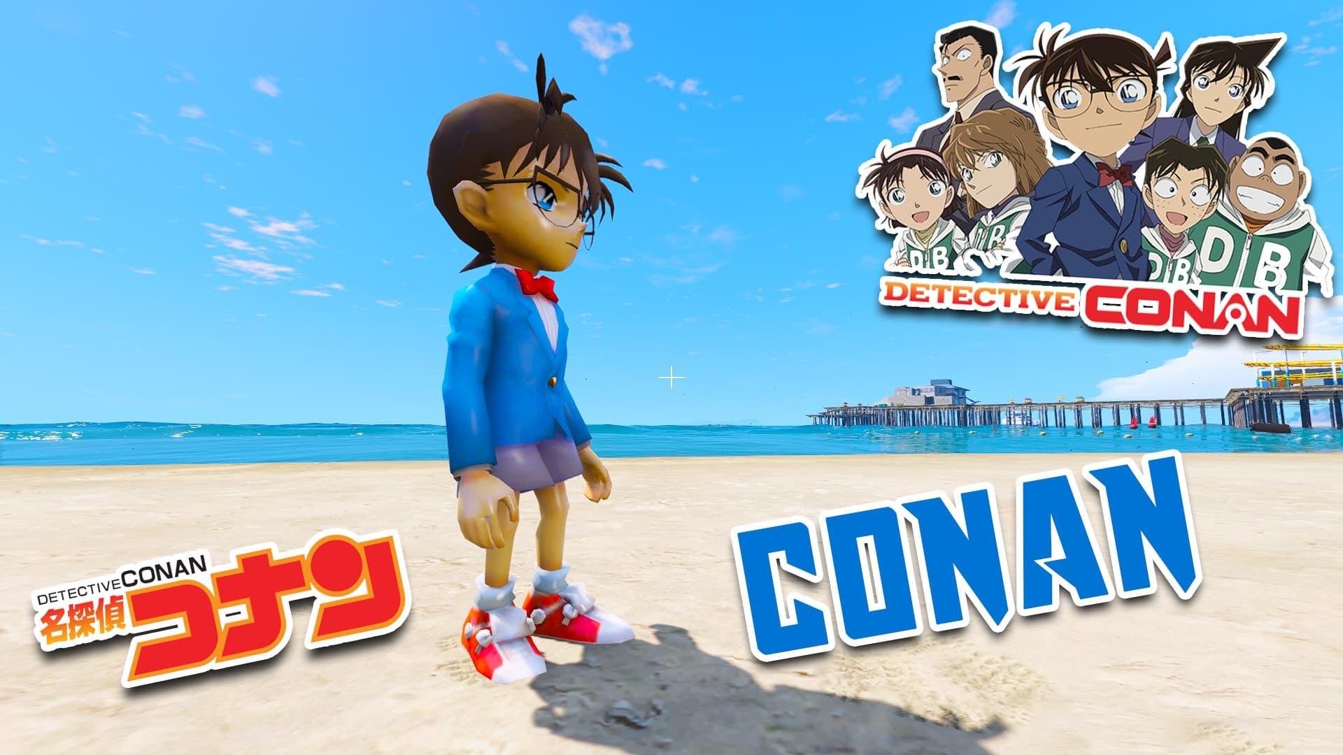 GTA 5 Mods Edogawa Conan