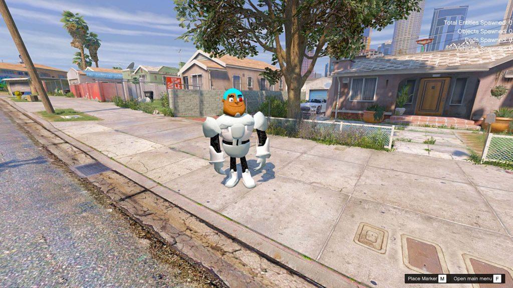 gta-5-mod-cyborg-teens-titan-go
