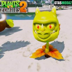 GTA 5 Mod Snapdragon Plants Zombies