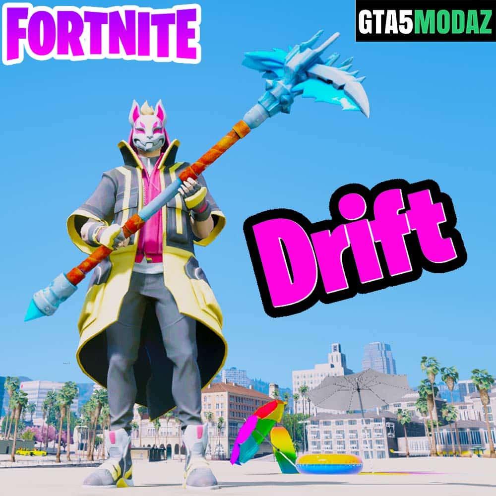Gta 5 Mod Fortnite Drift Skin Gta 5 Mods Website