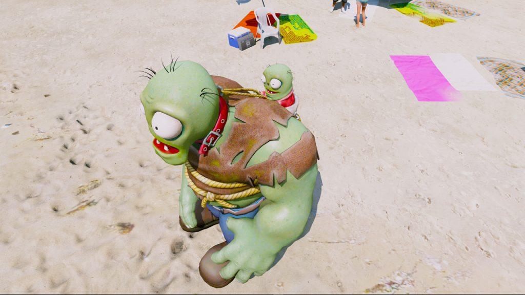 GTA 5 Mod Gargantuar Zombie