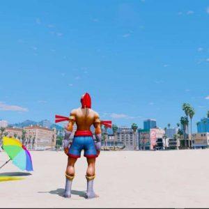 GTA 5 Mod Leesin Muaythai