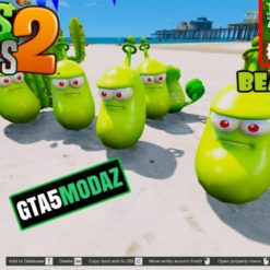 GTA 5 Mod Laser Bean Plants Zombies
