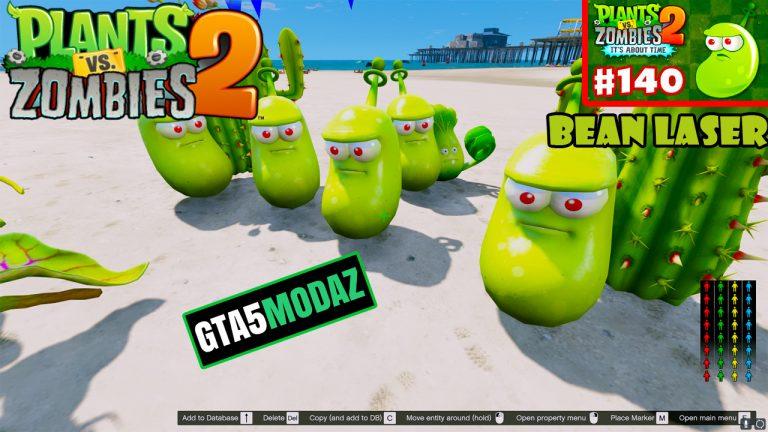 GTA 5 Mod Laser Bean Plants Zombies