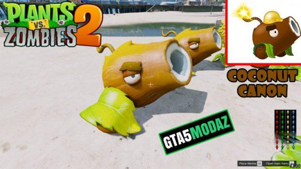gta-5-mod-coconut-canon-plants-zombies