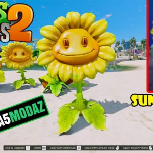 gta-5-mod-sunflower-plants-zombies