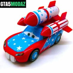 GTA 5 Mod Disney Cars Rocket Lightning Mcqueen