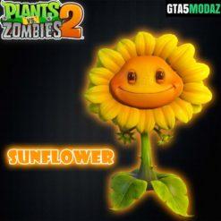 GTA 5 Mod Sunflower Plants Zombies
