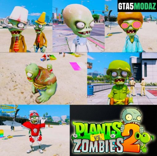 GTA 5 Mod Zombies Collection