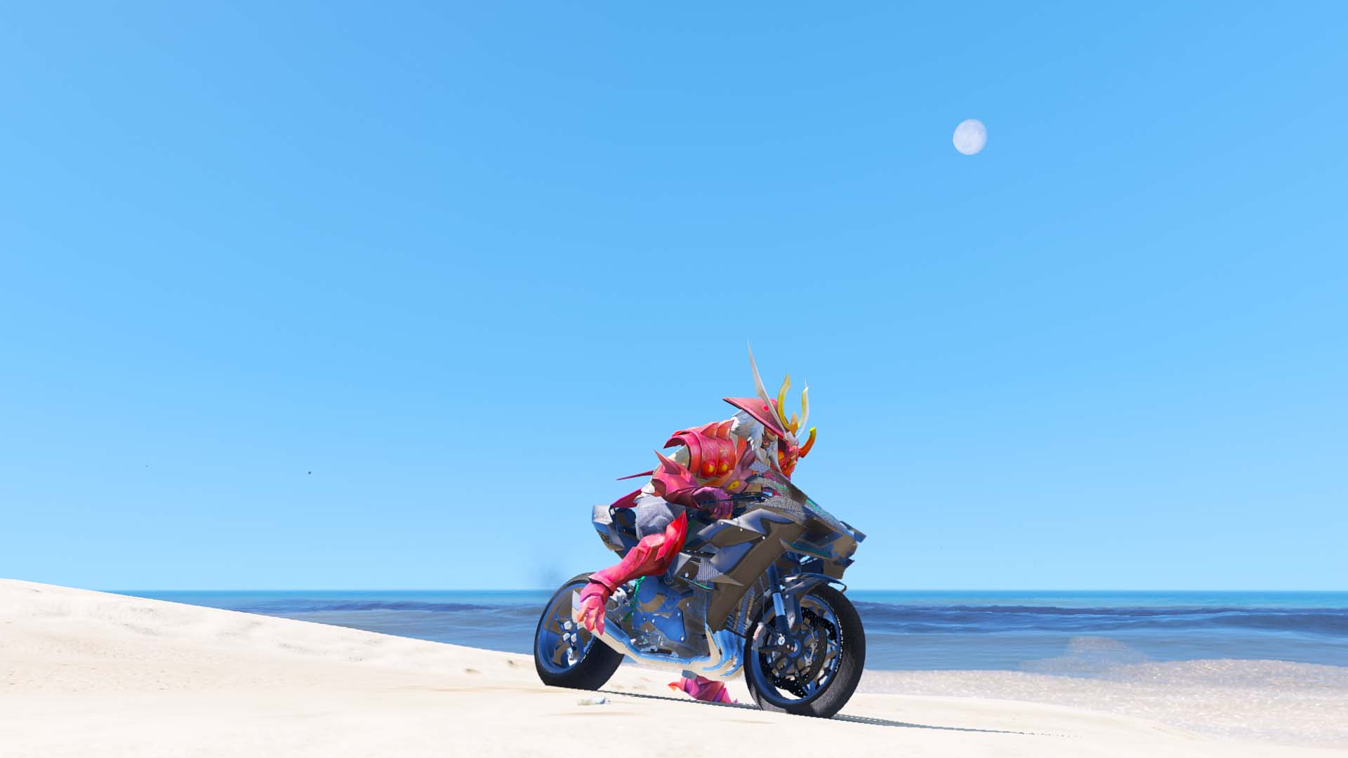 GTA 5 Mod Ryoma Bloodthirst Skin