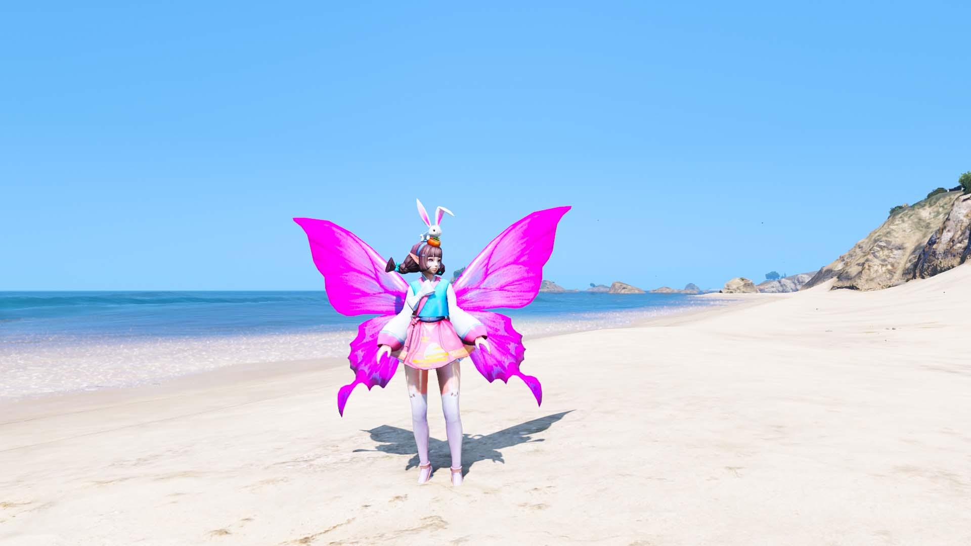 GTA 5 Mod Krixi Lunar Fairy Skin
