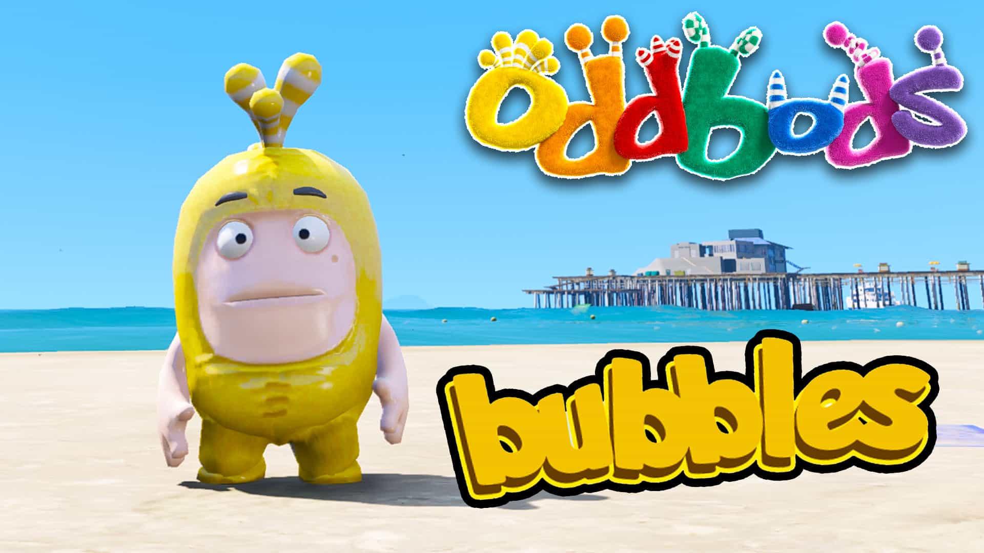 GTA 5 Mod Oddbods Bubbles