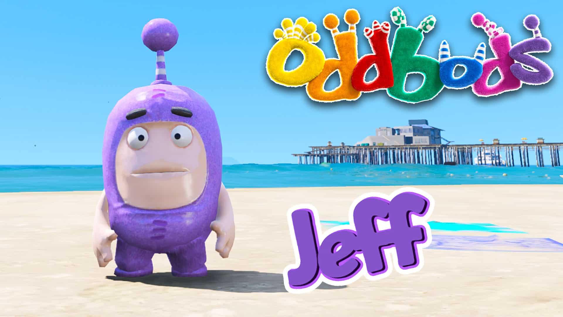 GTA 5 Mod Oddbods Jeff