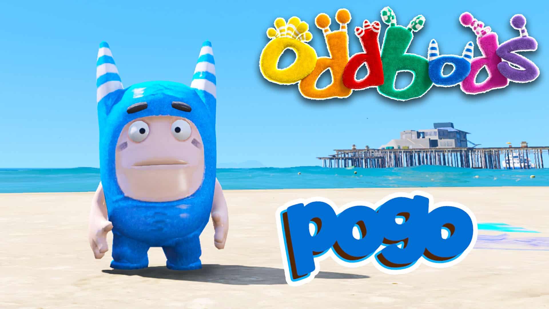 GTA 5 Mod Oddbods Pogo
