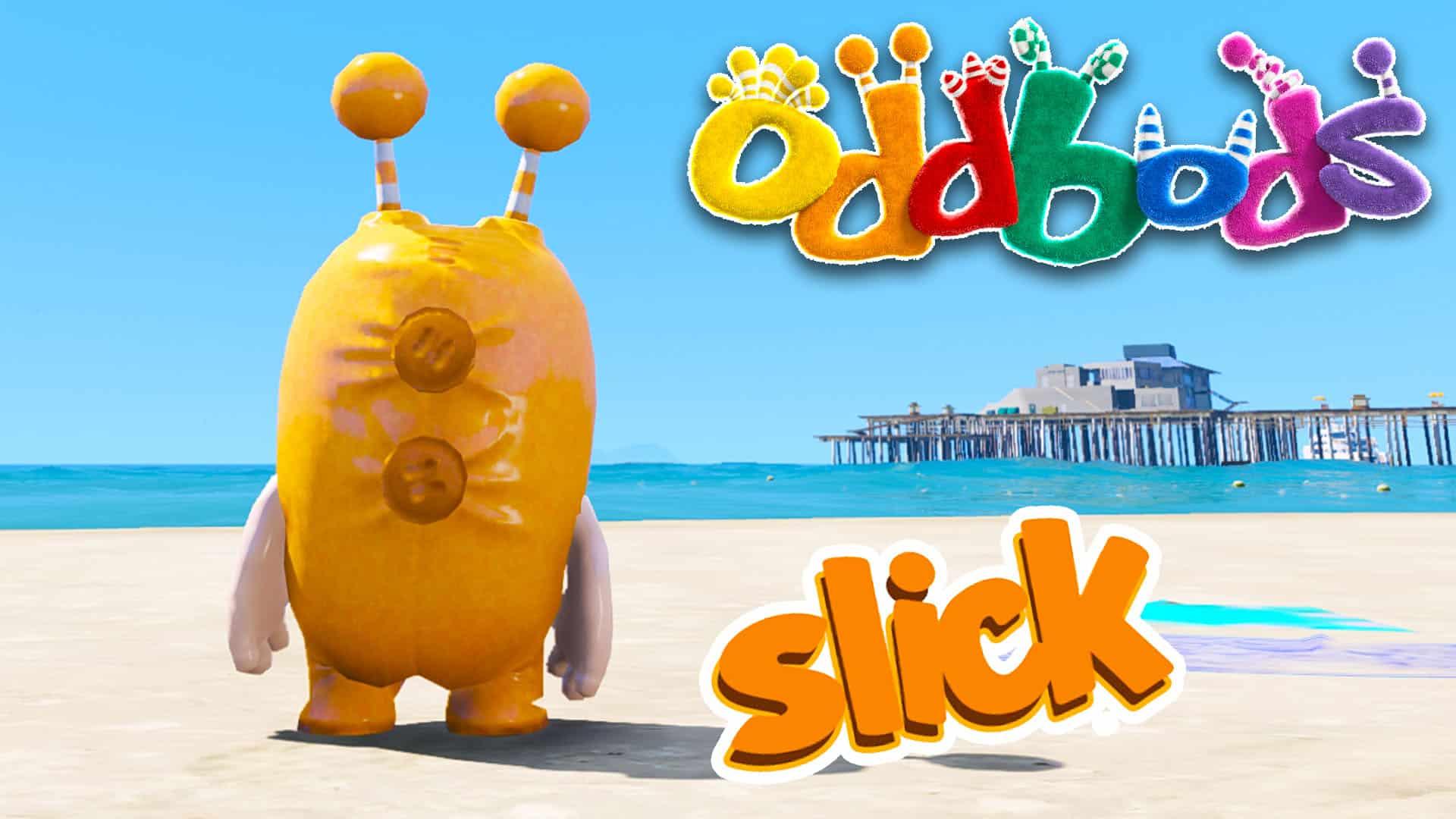 GTA 5 Mod Oddbods Slick