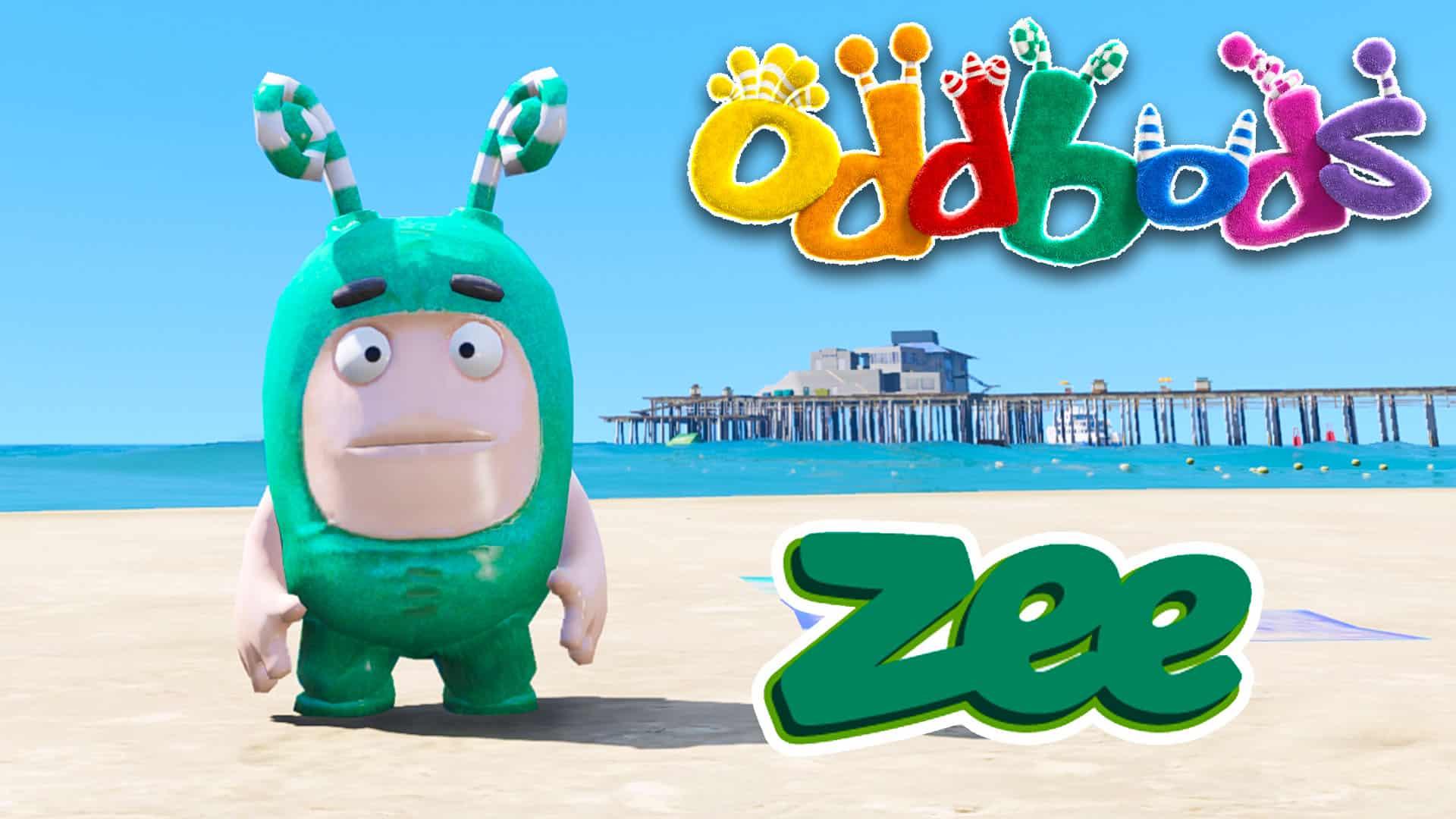 GTA 5 Mod Oddbods Zee