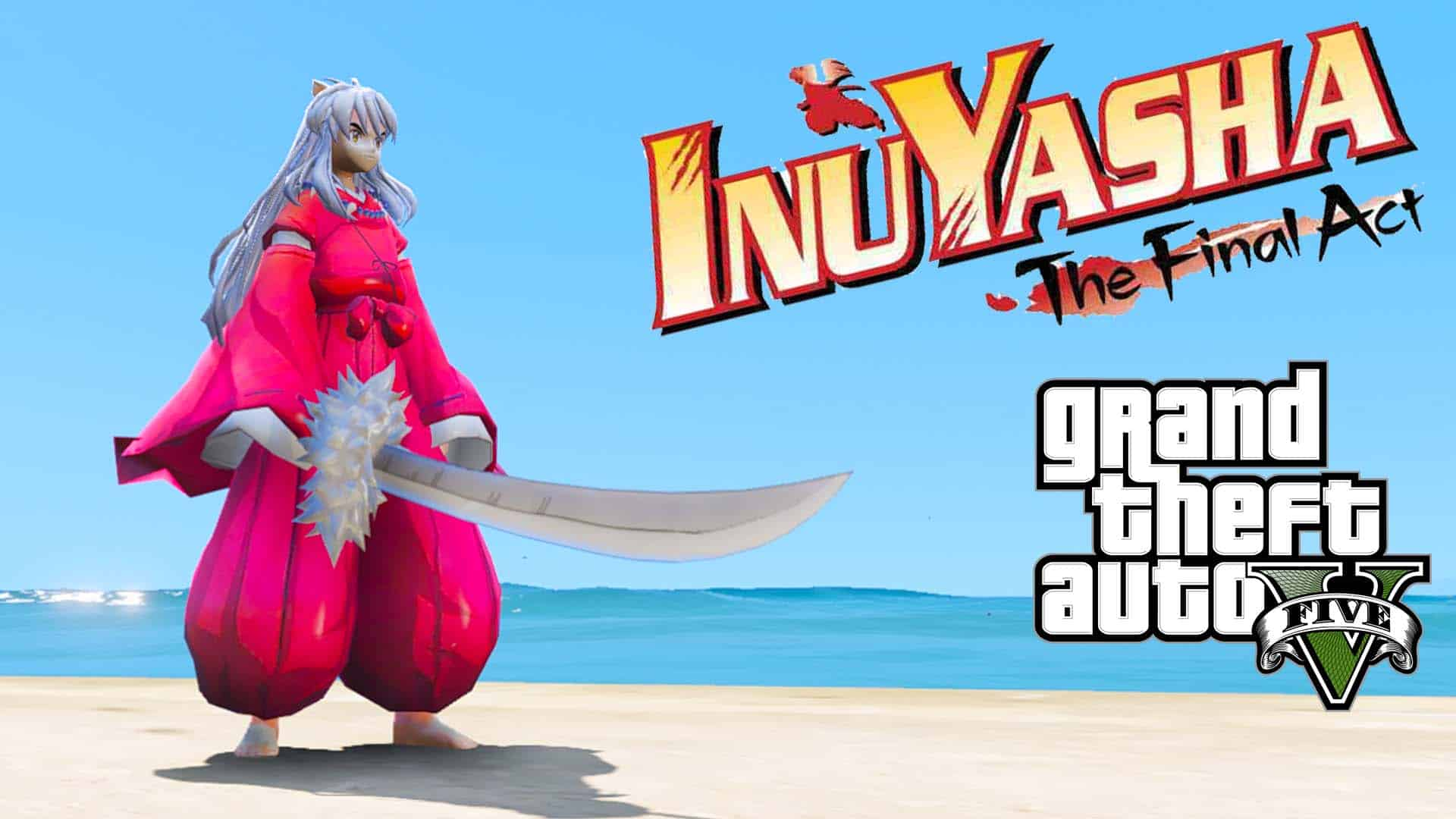 GTA 5 Mod Inuyasha
