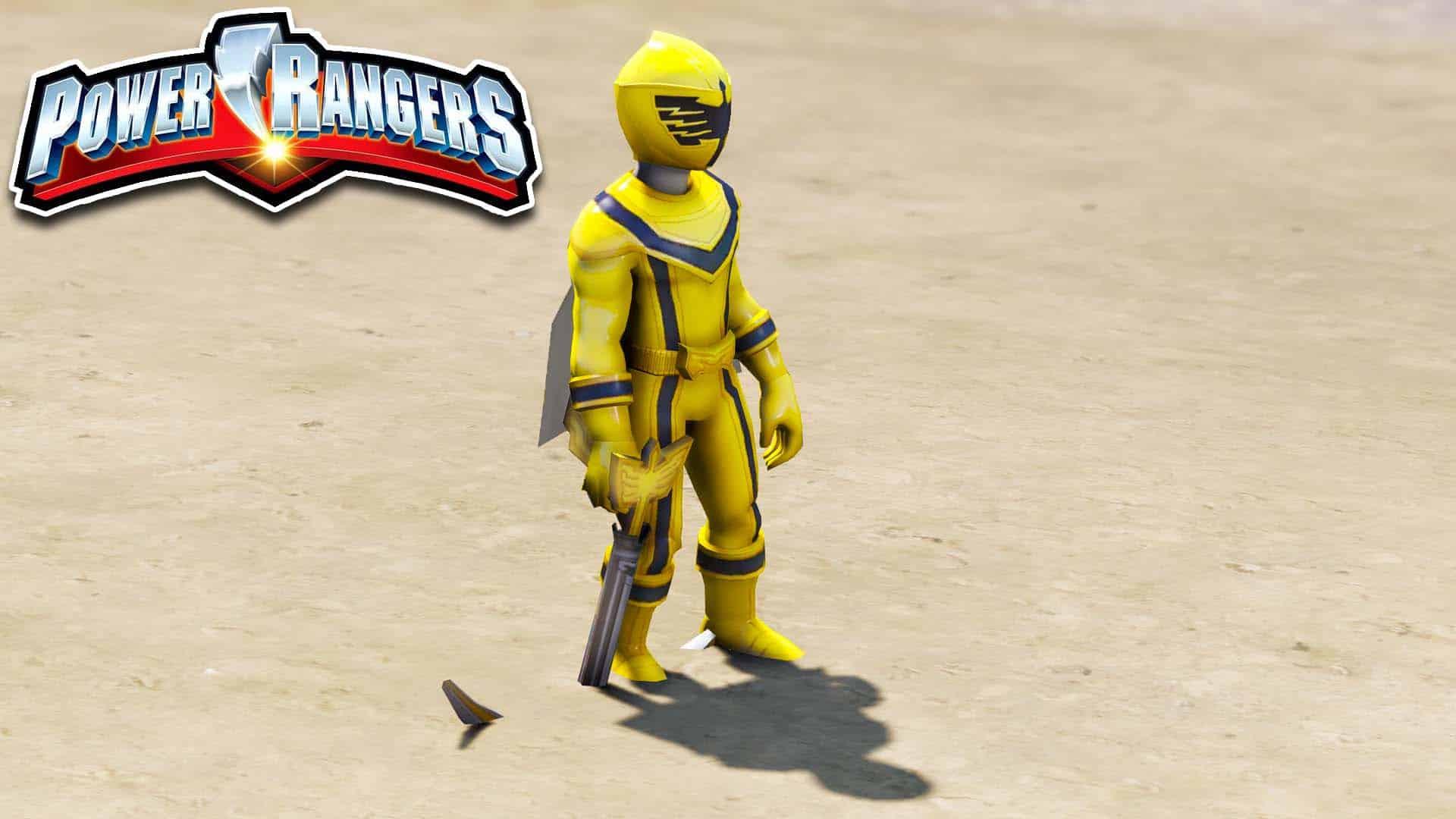 GTA 5 Mod Power Ranger Magiranger