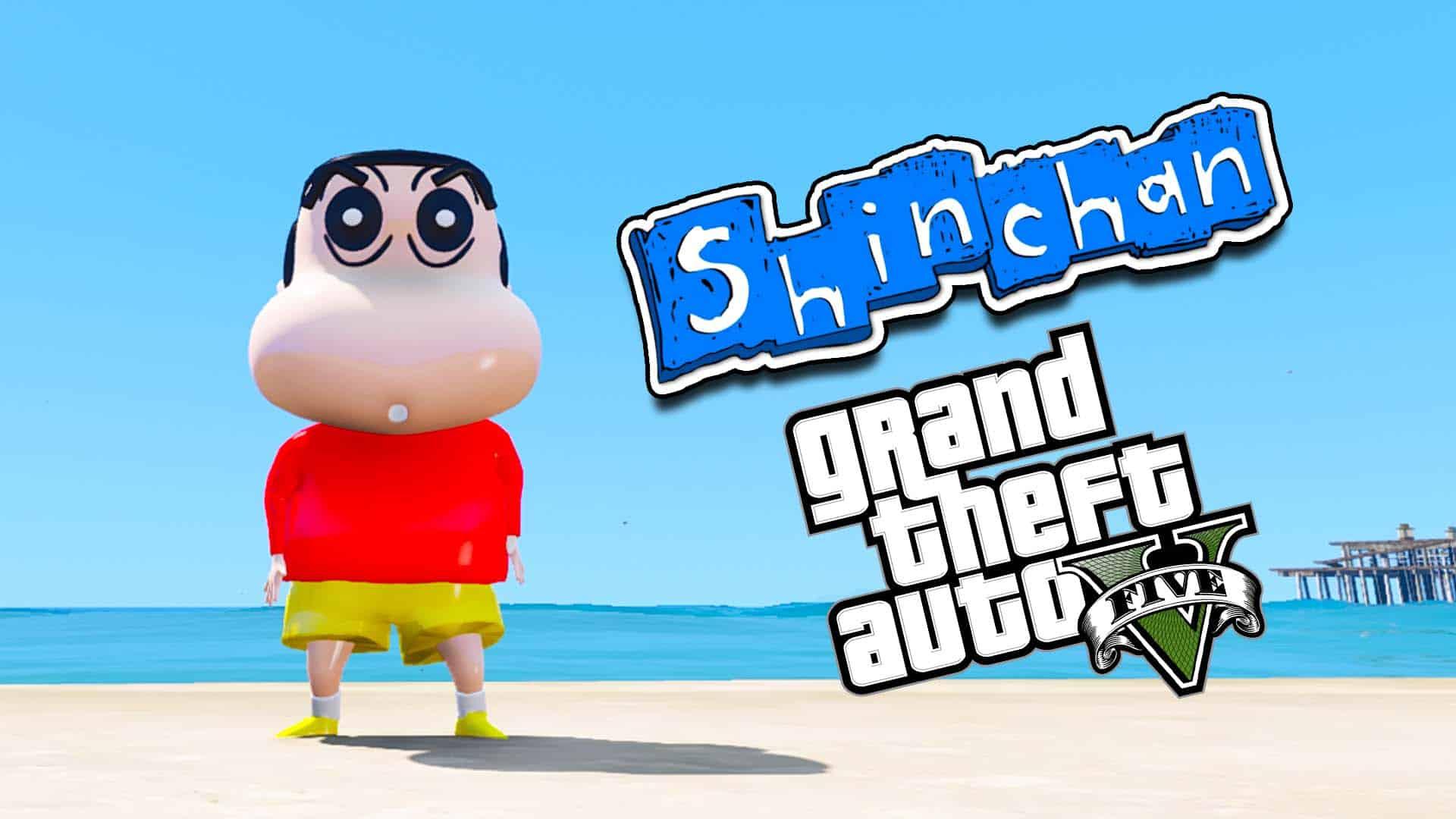 GTA 5 Mod Shinchan