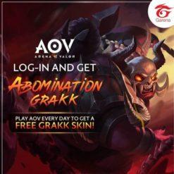 GTA 5 Mod Grakk Abomination Arena of Valor