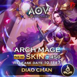 GTA 5 Mod Diaochan Archmage Arena of Valor