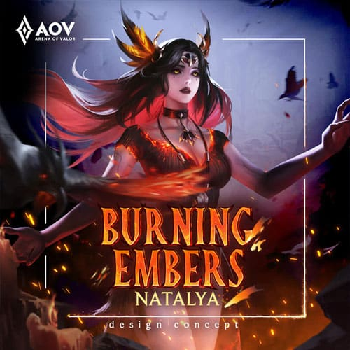 GTA 5 Mod Natalya Burning Embers Arena of Valor