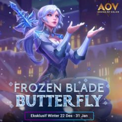 GTA 5 Mod Butterfly Frozen Blade Arena of Valor