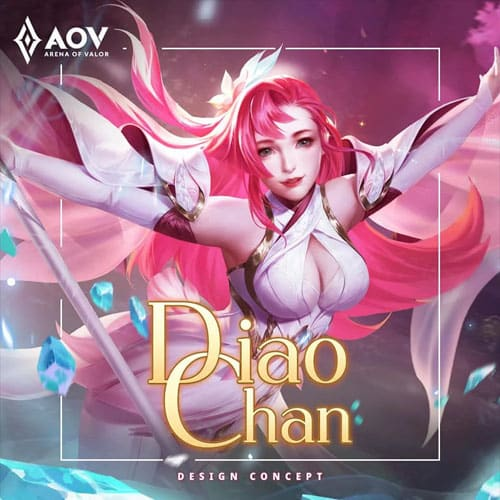 GTA 5 Mod Diaochan Original New 2019 Arena of Valor