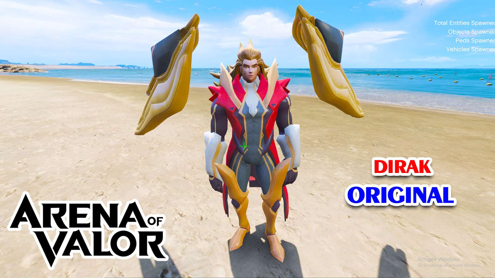 GTA 5 Mod Dirak Original Arena of Valor