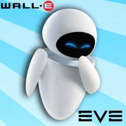 GTA 5 Mod Eve Robot in Wall-E