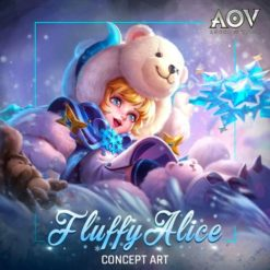 GTA 5 Mod Alice Fluffy Arena of Valor