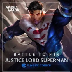 GTA 5 Mod Superman Justice Lord Arena of Valor