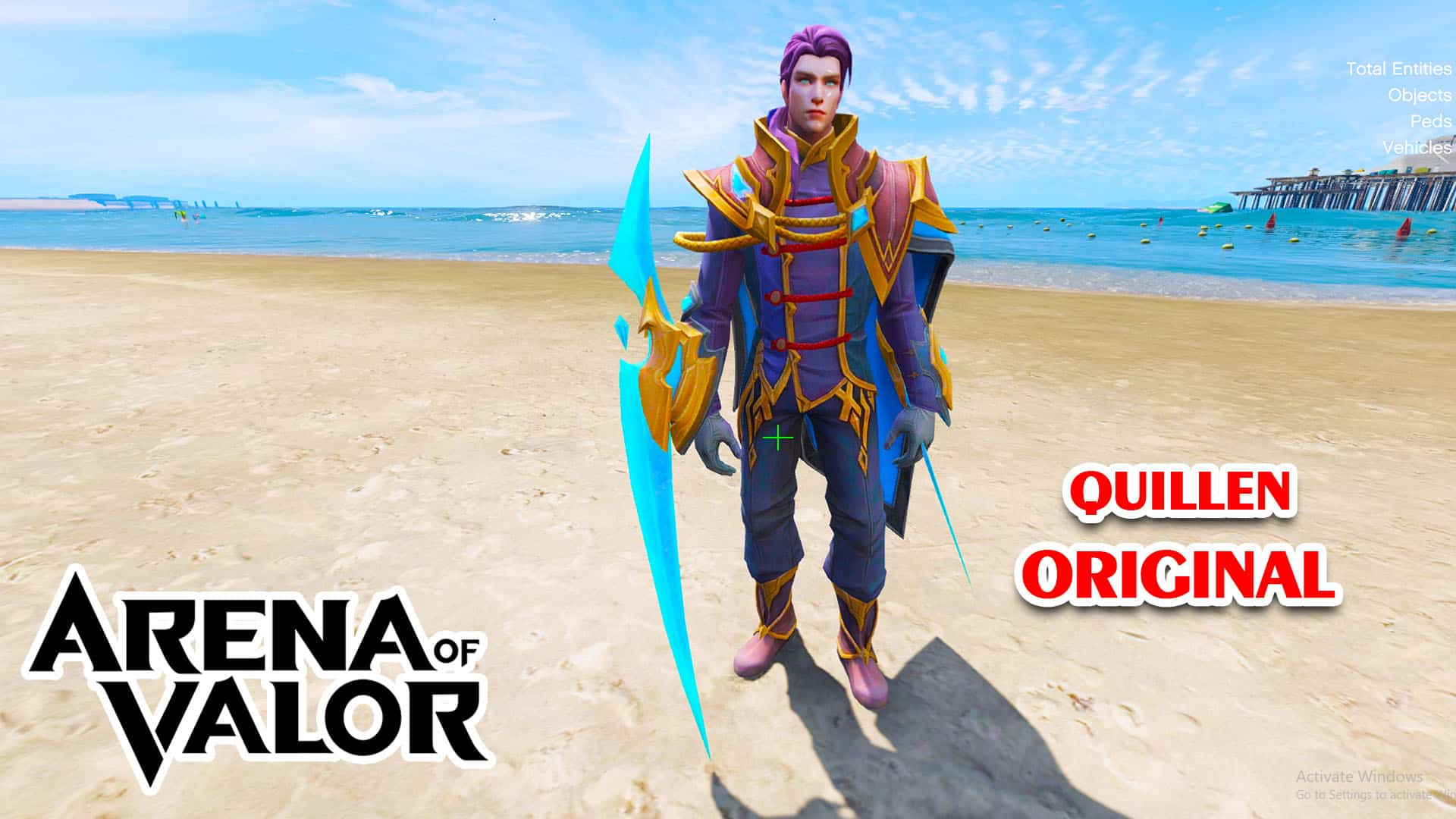 GTA 5 Mod Quillen Original Arena of Valor