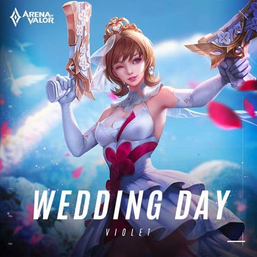 GTA 5 Mod Violet Wedding Day Arena of Valor