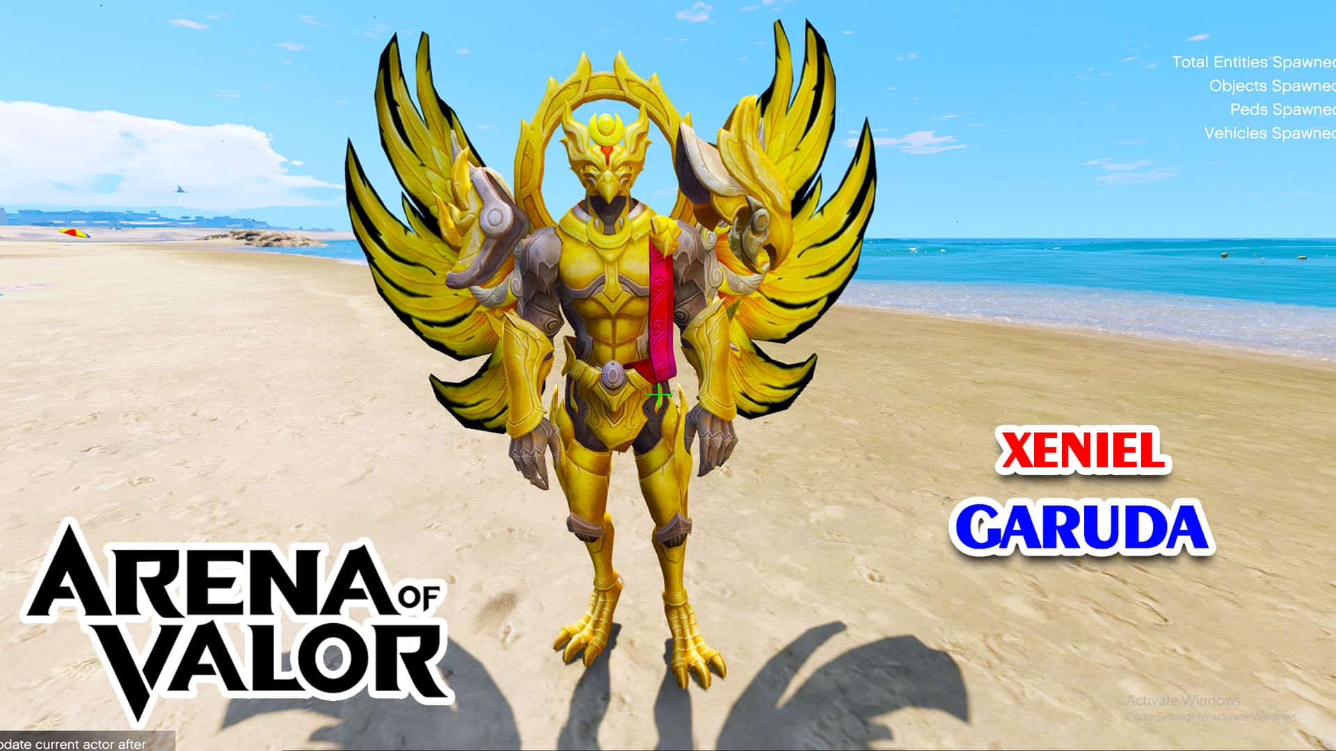 GTA 5 Mod Xeniel Garuda Arena of Valor