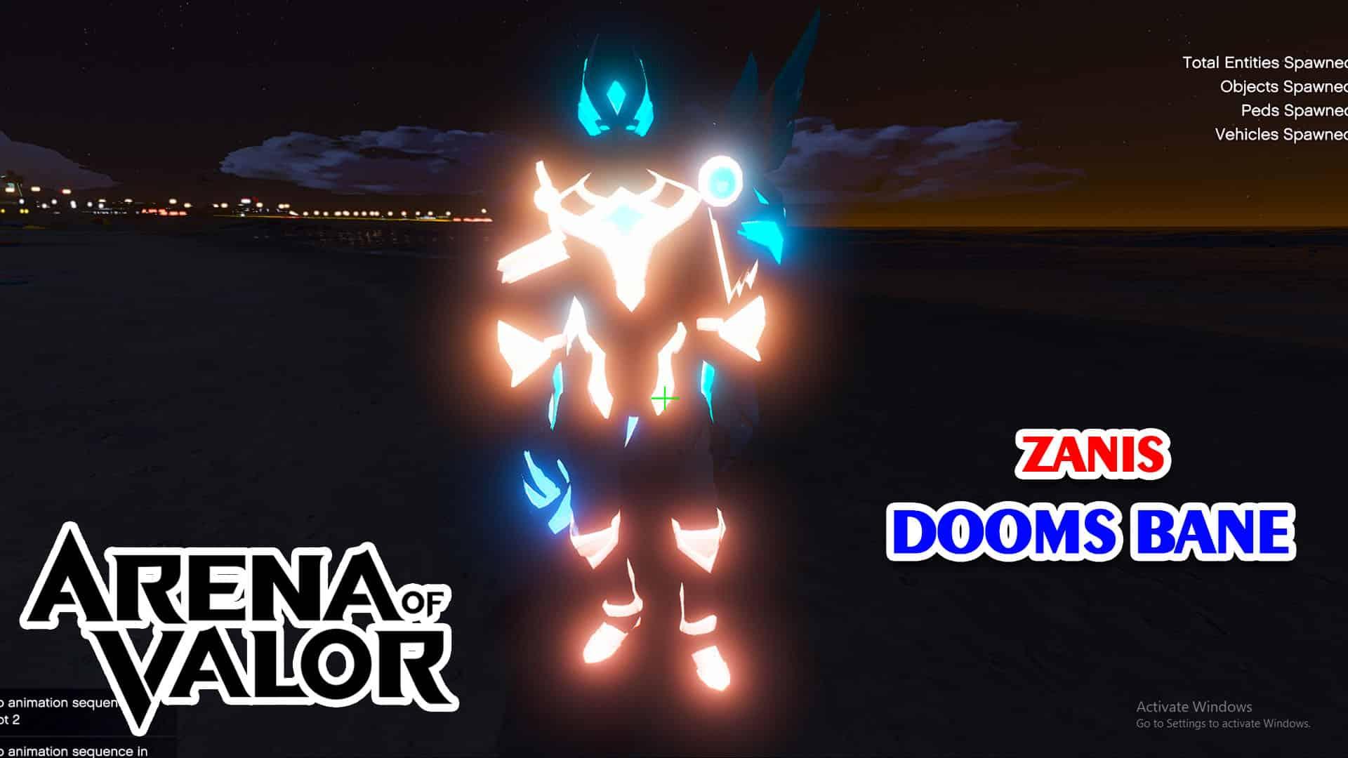 GTA 5 Mod Zanis Doom's Bane Arena of Valor