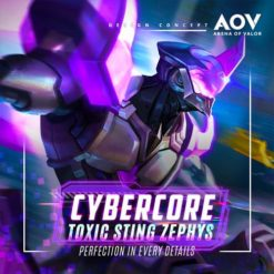 GTA 5 Mod Zephys Cybercore Toxic Sting Arena of Valor