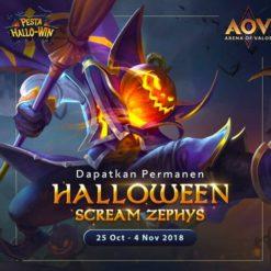 GTA 5 Mod Zephys Halloween Scream Arena of Valor