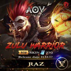 GTA 5 Mod Raz Zulu Warrior Arena of Valor