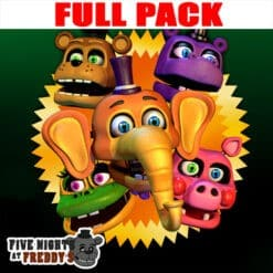 GTA 5 Mods FNAF Mediocre Melodies FULL PACK