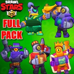 GTA 5 Mods Brawl Stars RICO FULL PACK